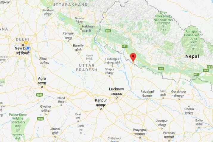 यहां से भारतीय सीमा में दाखिल हुए थे चीनी पर्यटक | Via Google Maps- India TV