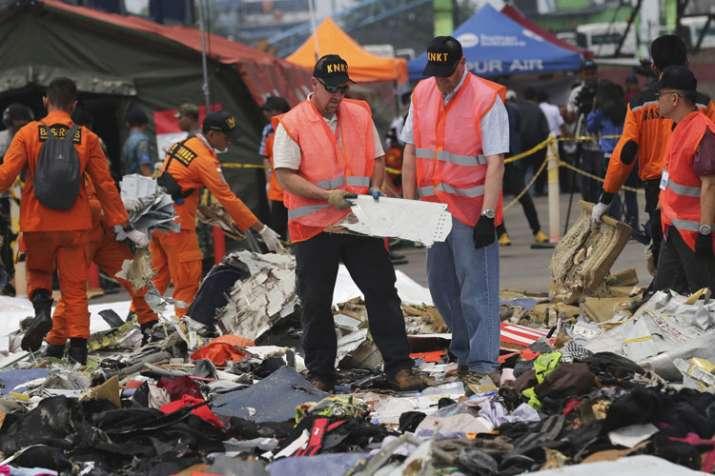 Investigators examine parts of a Lion Air jet that...- India TV