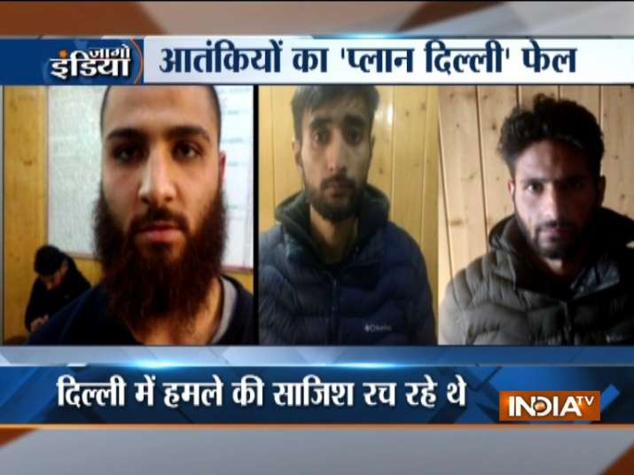 Delhi police arrest three suspected ISJK terrorists from Srinagar | India TV- India TV