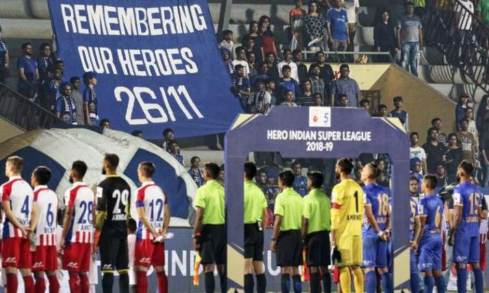 आईएसएल-5 : एटीके ने मुंबई को ऐतिहासिक जीत हासिल करने से रोका- India TV