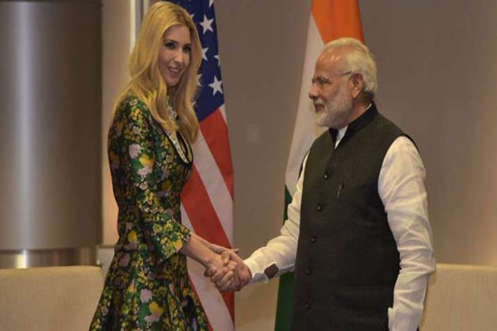Ivanka Trump, PM Modi- India TV