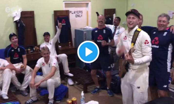 Video: एशिया में ऐसा कारनामा करने वाली इंग्लैंड की पहली टीम बनते ही खुशी से झूम उठे जो रूट, बजाने लग- India TV