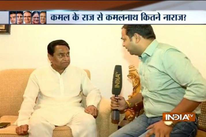 India TV Exclusive | Rahul Gandhi will decide on CM after poll results, says Kamal Nath - India TV