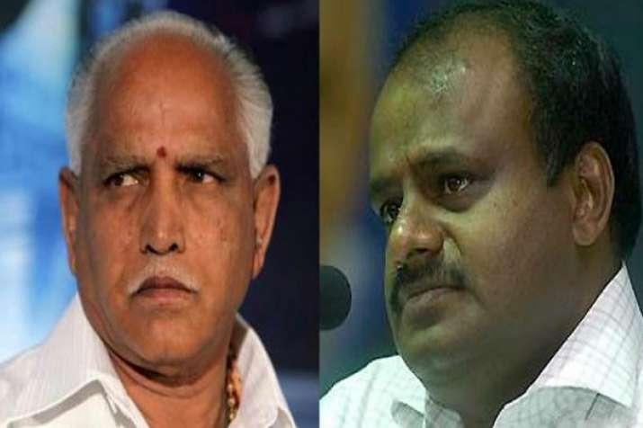 कांग्रेस-जेडीएस गठबंधन की 5 में से 4 सीटों पर जीत पक्की, शिमोगा में BJP को बढ़त- India TV