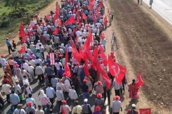 संसद मार्च के लिये देशभर से दिल्ली पहुंचने लगे किसानों के समूह, किया जा सकता है ट्रैफिक डाइवर्जन- India TV