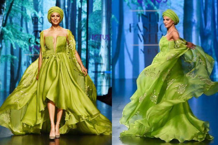 lotus make up india fashion week - India TV