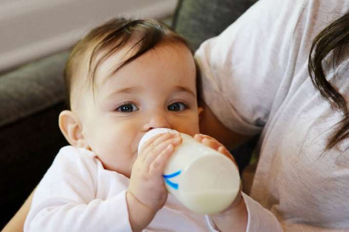 Danger of development disorde in newborns by drinking closed milk in packet - India TV