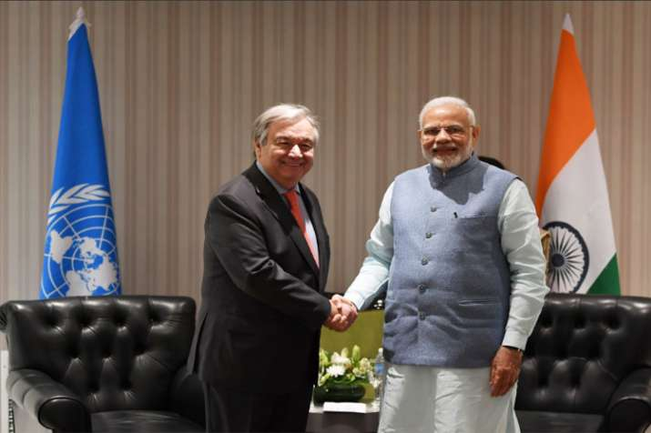 India to play responsible role at climate negotiations in Poland: Modi to UN chief- India TV