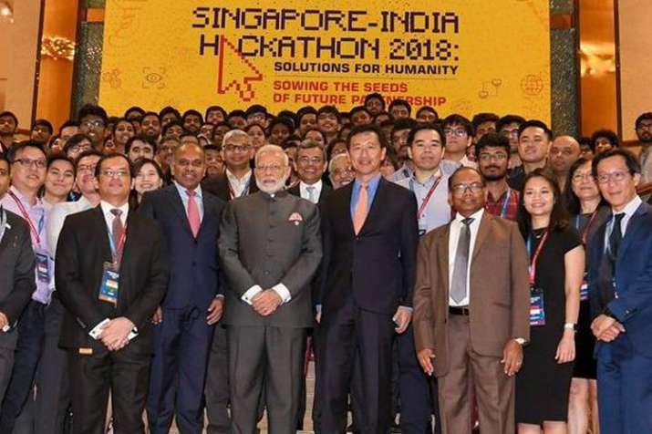 भारत-सिंगापुर हैकाथन से प्रौद्योगिकी, युवा शक्ति को मिलेगा बढ़ावा: पीएम मोदी- India TV