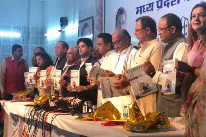 Congress releases manifesto for Madhya Pradesh Elections 2018 | Twitter Photo- India TV