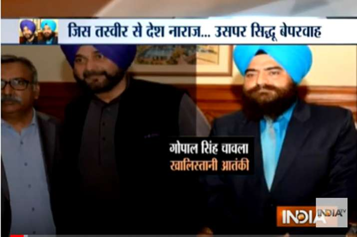 Navjot Singh Siddhu- India TV