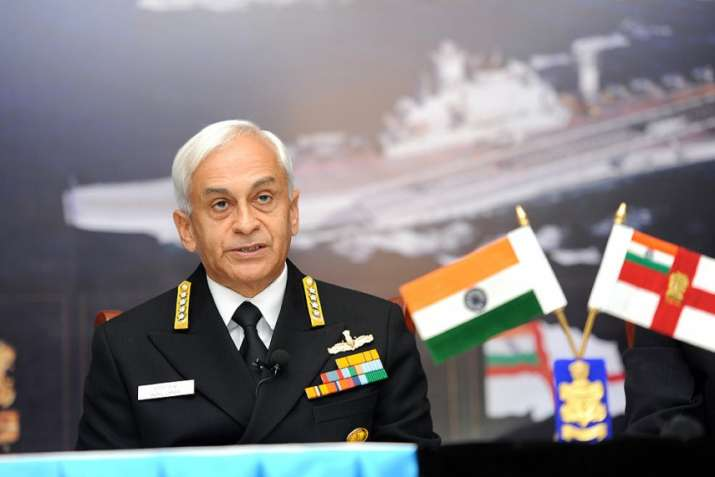 Navy Chief Admiral Sunil Lanba- India TV