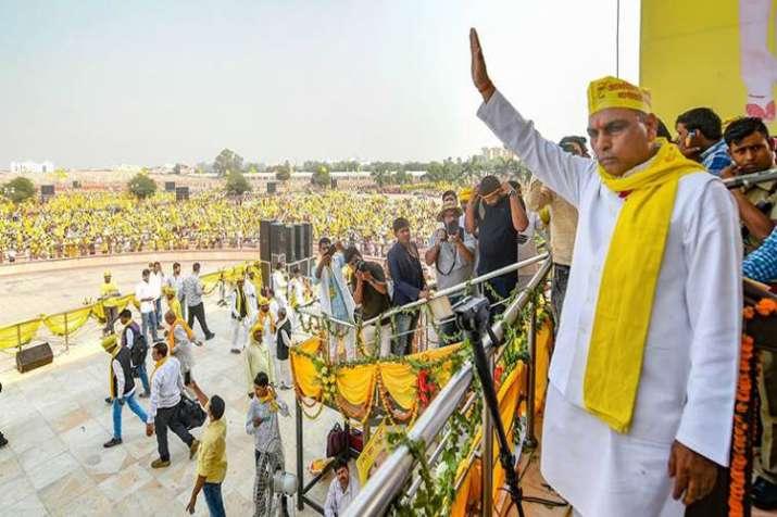 Om Prakash Rajbhar targates BJP for changing names of Cities in Uttar Pradesh- India TV