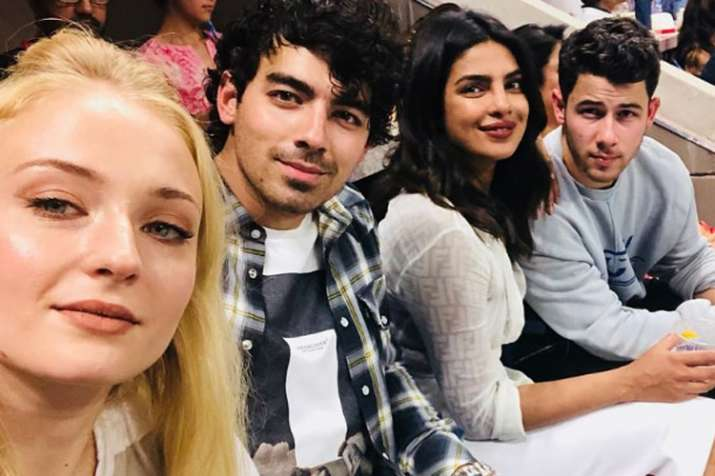 Sophie Turner, Joe Jonas, Priyanak Chopra, Nick Jonas- India TV