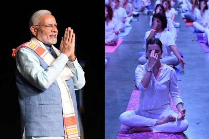 Yoga connecting India and Argentina, says PM Narendra Modi | PTI- India TV