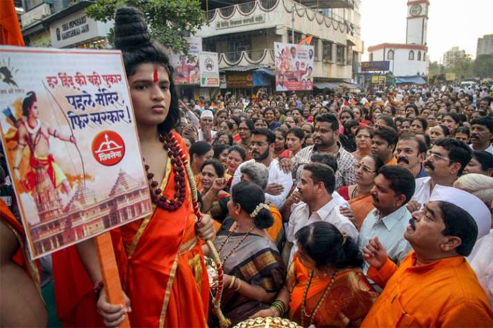 VHP rejects land sharing formula, demands whole land for Ram Temple | PTI- India TV