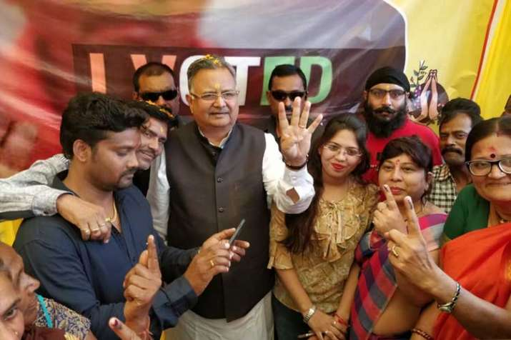 Chhattisgarh CM Raman Singh- India TV