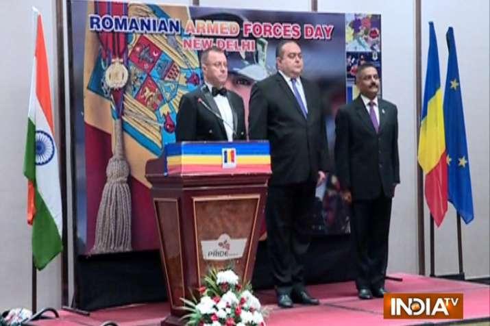 दिल्ली में रोमानियन आर्म्ड फोर्स डे का जश्न, तमाम देशों के मेहमान रहे मौजूद- India TV