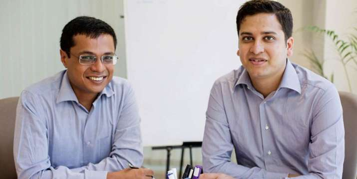 sachin and binny bansal- India TV Paisa
