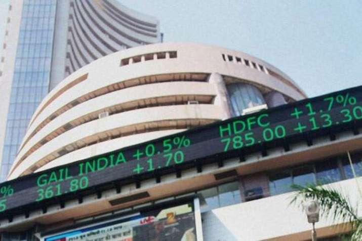 Share market: Sensex closes 79 points lower, Nifty at 10,585- India TV Paisa