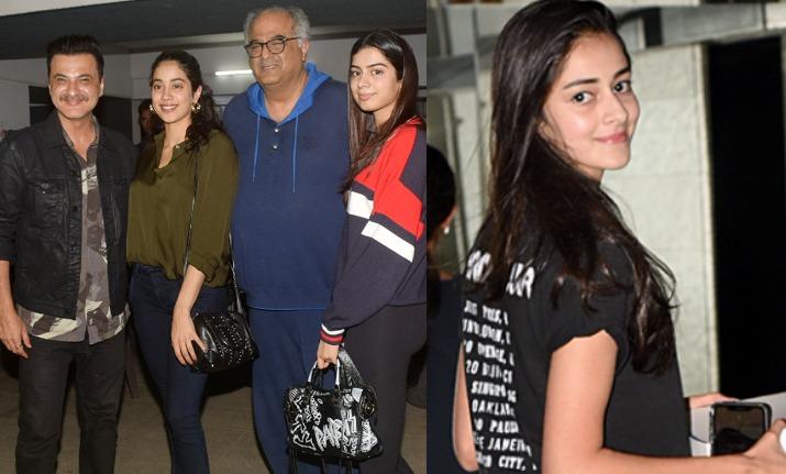 जान्हवी कपूर, सुहाना खान और अनन्या पांडे ने शनाया खान के 19वें जन्मदिन में बढ़ाई रौनक, देखिए तस्वीरे- India TV