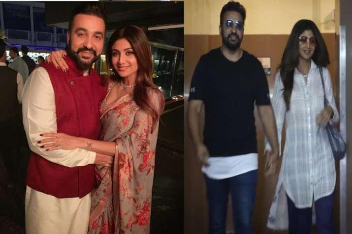 shilpa shetty and raj kundra- India TV
