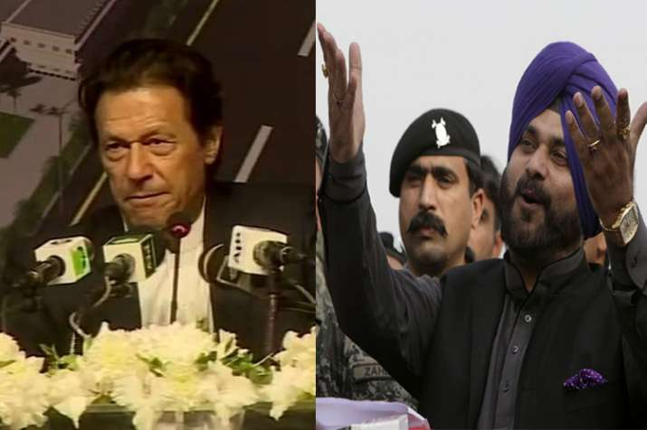 Sidhu can contest election in Pakistan says Imran Khan- India TV