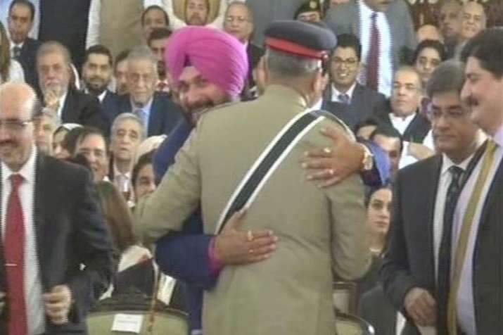 Sidhu says that his hug wit pak army chief was not a Rafale Deal- India TV