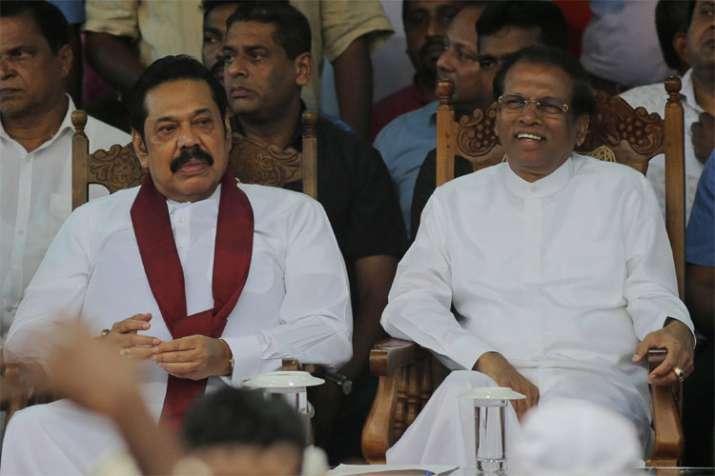 Maithripala Sirisena and Mahinda Rajapaksa | AP Photo- India TV