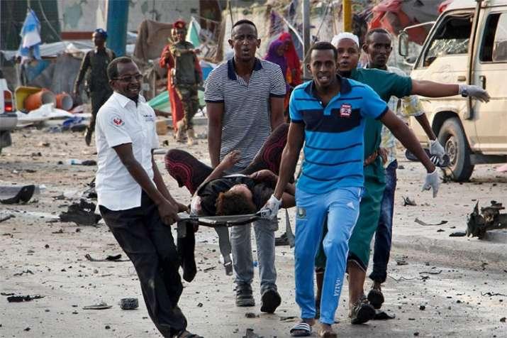 Somalia: At least 20 killed in Mogadishu explosions | AP- India TV