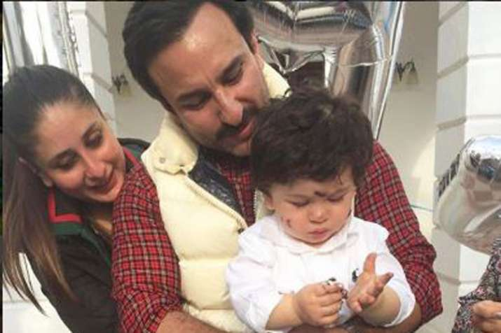 Kareena Kapoor Khan, Taimur Ali Khan, Saif Ali Khan- India TV