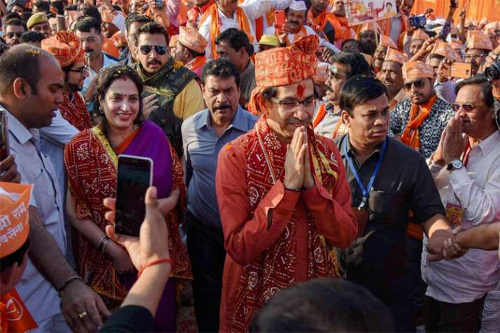 The govt may fall but temple will be built, says Uddhav Thackeray | PTI- India TV