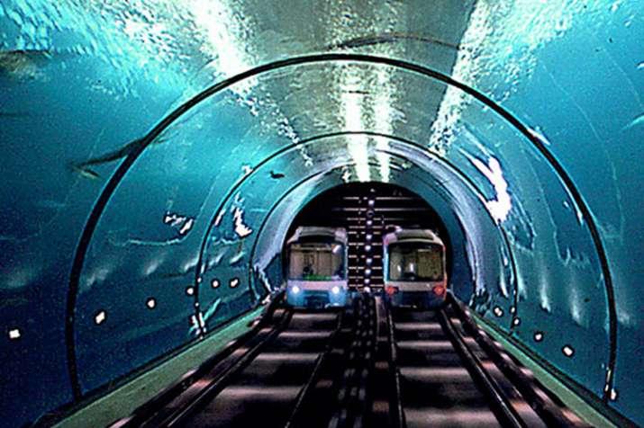 दुबई और मुंबई के बीच समुद्र के नीचे दौड़ेगी हाईस्पीड ट्रेन!- India TV