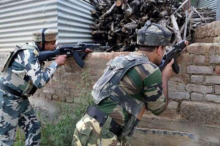 Encounter in Jammu Kashmir (representational image)- India TV