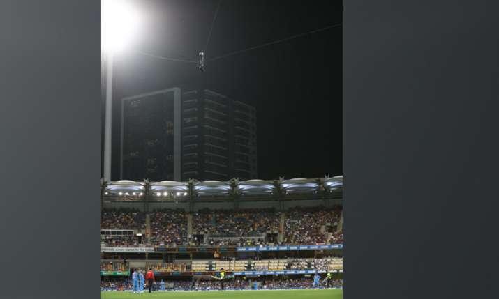 Glenn Maxwell hits on spider cam- India TV