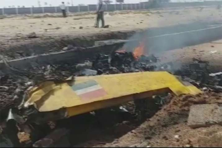 Aircraft Crash- India TV