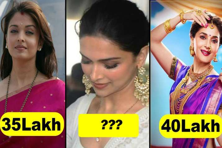 Deepika sonam and other Celebrity Mangalsutra cost- India TV