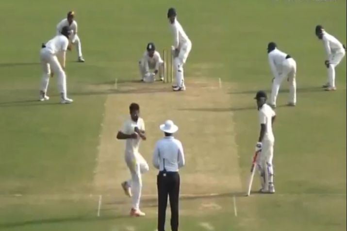 Wired Action Bowling In Domestic Cricket- India TV