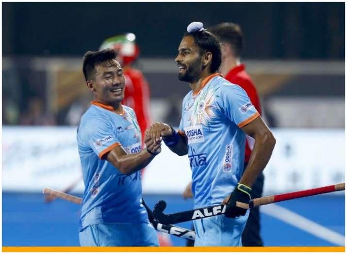 Pic Credit: Hockey India Twitter- India TV