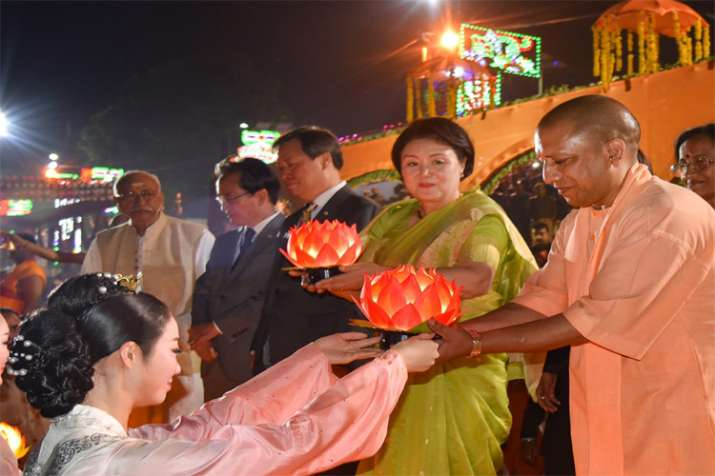 Yodgi Adityanath, Ayodhya Deepotsav- India TV