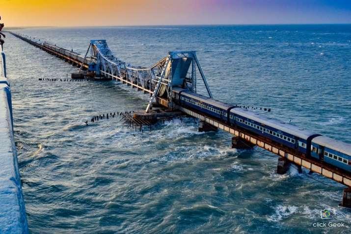 पामबन पुल- India TV