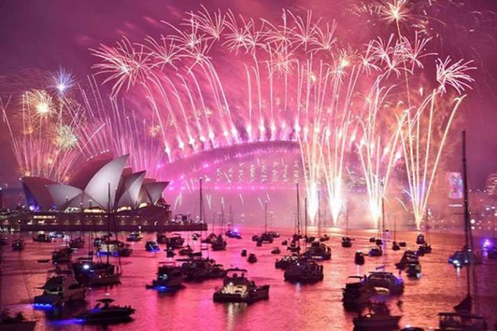 New Year's Eve celebrations: Happy New Year 2019 Live Updates Watch the fireworks as the world welco- India TV