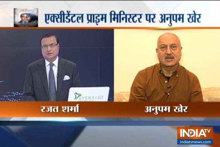 The Accidental Prime Minister, Anupam kher- India TV