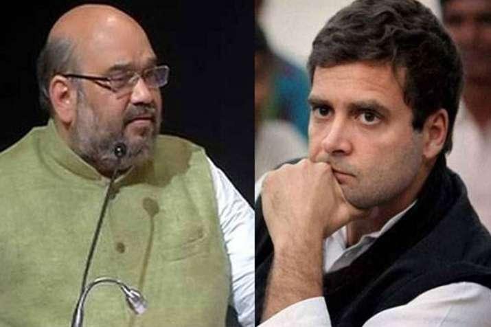Amit Shah targets Rahul Gandhi on CM candidate in Rajasthan- India TV