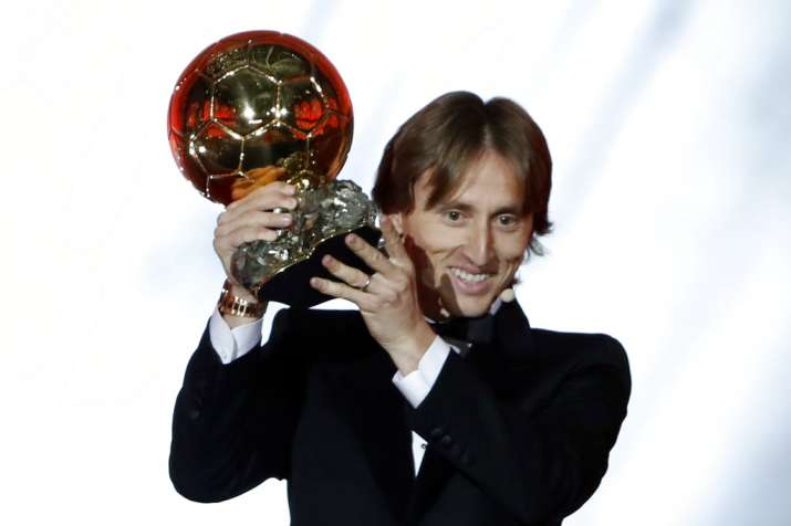 Luka Modric wins Ballon d'Or, ends Messi-Ronaldo's 10-year duopoly- India TV