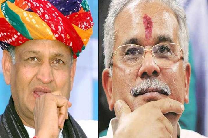 ashok gehlot and bhupesh baghel- India TV