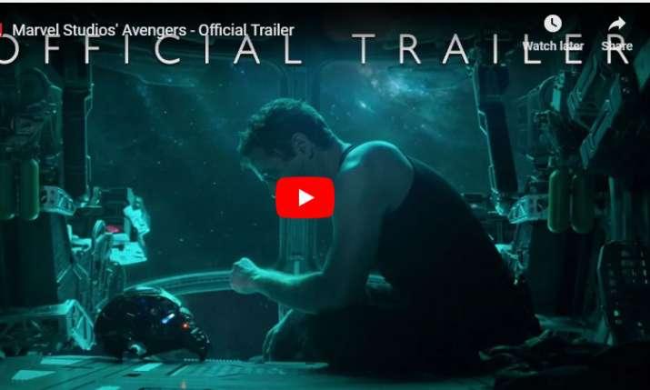 Marvel Studios' Avengers - Official Trailer- India TV