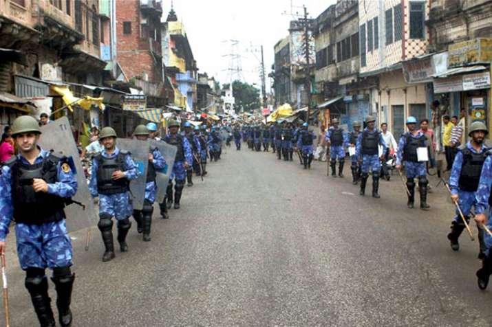 विवादित ढांचे के विध्वंस की बरसी पर फिर छावनी बनी 'राम की नगरी' अयोध्या- India TV
