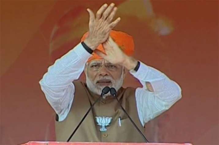 Will recite 'Bharat Mata Ki Jai' 10 times, PM Modi hits back at Rahul- India TV