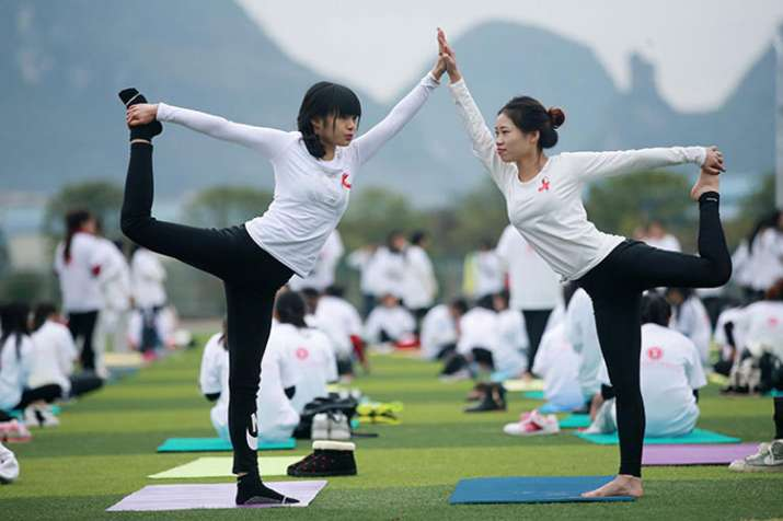 China-India Yoga College to open 50 branches in China- India TV